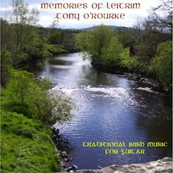 CD cover, showing a river flowing through a rural setting