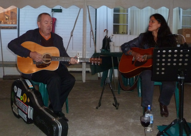 Tony O'Rourke and Suzette Herft
