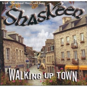 Cover of Shaskeen's CD
